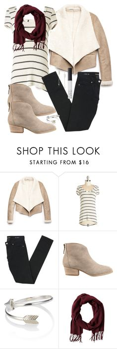 """Allison Inspired Fall Outfit"" by veterization ❤ liked on Polyvore featuring Forever 21, Yves Saint Laurent, Nine West, Accessorize, Tiger of Sweden, Chibi Jewels and NARS Cosmetics"