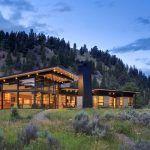 Montana River Bank Modern Sustainable Home