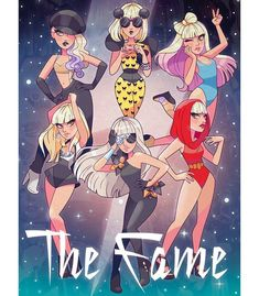 Pop culture is art. It doesn't make you cool to hate pop culture, so I embraced it and you hear it all over The Fame. But, it's a sharable… The Fame Monster, Monster Art, Happy Birthday Woman, Free Birthday, Birthday Box, Lady Gaga The Fame, Lady Gaga Artpop, Lady Gaga Pictures, Dibujos Cute