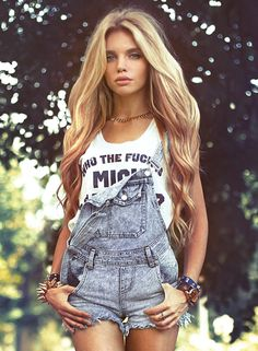 "Love the overalls, but the shirt says, ""who the f@&*s Mick Jagger"". Not cool."