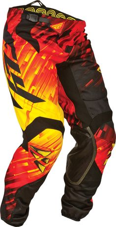 Kinetic racewear by Fly Racing, a rugged, comfortable and stylish approach to riding apparel. Features - Multi-panel Construction – for maximum performance and comfortable fit - Comfort-Stretch Collar