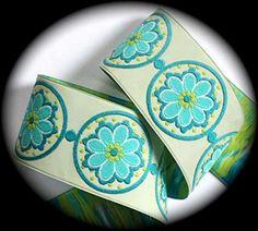 Etsy listing at https://www.etsy.com/listing/81678782/woven-jacquard-ribbon-la-belle-fleur-1
