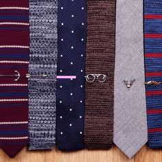 Casual ties and clips from this season, which one is your favorite?