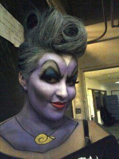 Look it's me! makeup & hair by Jen Fregozo (JK MAKEUP)  .....Halloween fun with Jen as Ursula  JK Makeup and Hair
