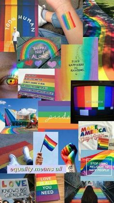 Read from the story Fondos LGBT by Gilyshouto (Gily) with reads. Gay Aesthetic, Aesthetic Collage, Aesthetic Iphone Wallpaper, Aesthetic Wallpapers, Rainbow Wallpaper, Rainbow Aesthetic, Lesbian Pride, Lgbt Community, Cute Gay