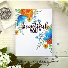 Today I'm over on the @sevenhillscrafts blog using lots of lovely @concordand9th stamps and dies. Gotta love those tropical looking florals on a day like today. #concord&9th #copicmarkers #cardmaking