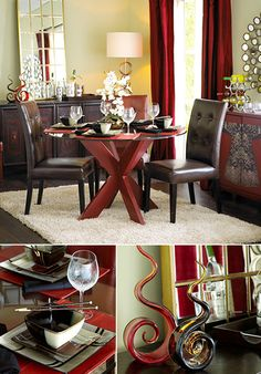 Modern Shapes | Dining Room Decorating Ideas & Inspirations ǀ Pier 1 Imports