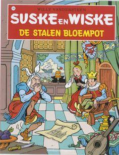 suske en wiske | Suske En Wiske 145 De Stalen Bloempot | Willy Vandersteen | Boek | eci ...