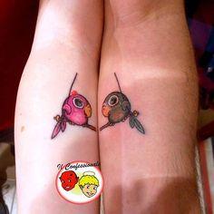 #tatuaggio di coppia by il confessionale