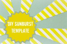 Use this technique to make a sunburst template on your computer. Print it over and over again to add sunbursts to your cards or layouts.