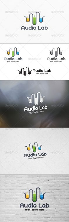 Audio Lab  Logo Template — Vector EPS #sound works #songs • Available here → https://graphicriver.net/item/audio-lab-logo-template/7644035?ref=pxcr