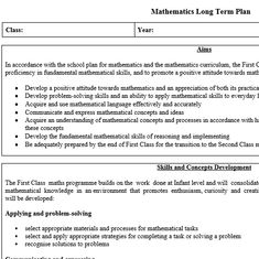 Maths preview 1 School Plan, Problem Solving Skills, Positive Attitude, Maths, Mathematics, Teaching Resources, Curriculum, Positivity, How To Plan