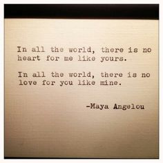 In all the world