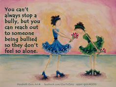 REACH OUT Anti bullying poster by ZentoZany on Etsy, $10.00