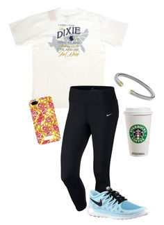 """""""SoPro #college"""" by soccerstreak on Polyvore featuring NIKE, women's clothing, women's fashion, women, female, woman, misses and juniors"""