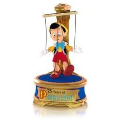 Disney Pinocchio When You Wish Upon A Star Ornament,