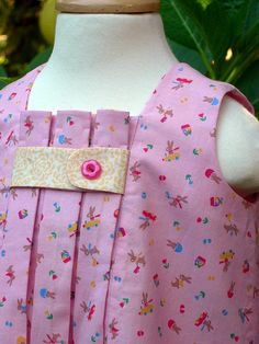 Birthday Party dress for babyJapanese fabric by BeeBabyMine, $65.00