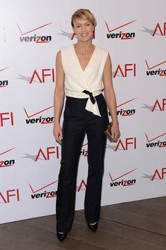 Robin Wright at the 2014 AFI Awards.