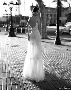 gali karten 2017 bridal spaghetti strap sweetheart neckline heavily embellished bodice sexy romantic soft a  line wedding dress open scoop back sweep train (4) bv -- Gali Karten 2017 Wedding Dresses