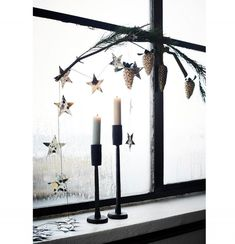 5 nápadov pre závesnú vianočnú výzdobu | DOMA.SK Bella Rose, Luster, Candle Sconces, Wall Lights, Christmas Decorations, Candles, Retro, Vintage, Design