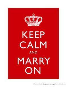 {Free Printables} Royal Wedding Designs & Inspiration! - The TomKat Studio