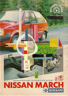 Old ad for the Nissan March.