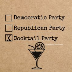 "sowetdontstop: "" forhispleasures: "" shesalittledipper: "" haughtyspirit: "" If I have to declare a party, I think this is the best choice. "" "" Truth!! We can have a Primary (aka Happy Hour). Our..."
