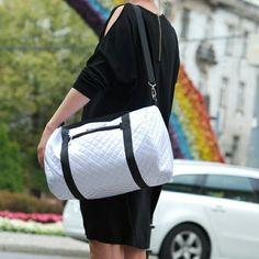 white sport bag Kowo Warsaw