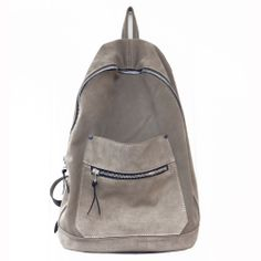 The Refined yet simply stylized backpack is re imagined in a Tan Neutral Toned suede leather. A rather lightweight alternative to the Full leather pieces, the Suede Collegiate backpack will be offered in a variety of colors easy to wear and addictive to carry.Seen on Nick and Joe Jonas during 2013 Coachella Music Festival
