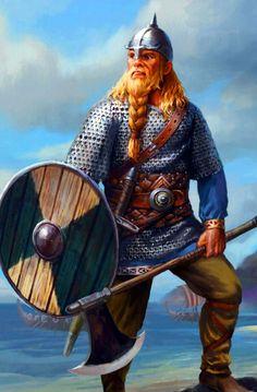 Danish Huscarl warrior