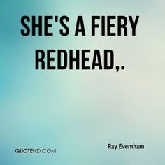 quotes about being a redhead - Google Search