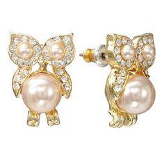 LC Lauren Conrad Owl Earrings