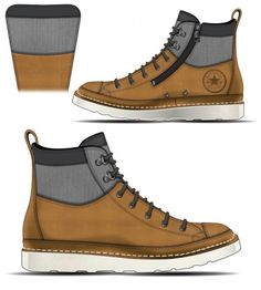 Converse Chuck Taylor Boot Concepts by David Whetstone