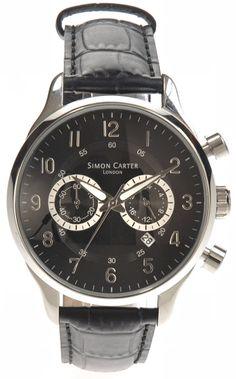 Black Chronograph Watch