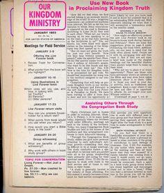 Set 1988 Our Kingdom Ser. Watchtower IBSA N H Knorr Original Rutherford Jehovah