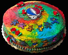 grateful dead cake - @NaomiErnest we need to make this for you know who