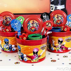 Shop for Power Rangers party supplies, birthday invitations, party favors, decorations, and more. Power Rangers Dino, Pawer Rangers, 10th Birthday Parties, Birthday Party Favors, Boy Birthday, Birthday Ideas, Power Rangers Birthday Cake, Power Ranger Party, Party Supplies