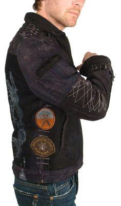 """""""DELUX"""" Custom Denim Jacket - Men's JUNKER"""