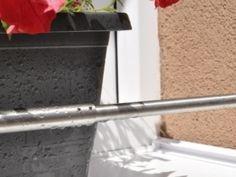 Zábrana truhlíku - rozpěrná TELESKOPICKÁ Balcony Garden, Balcony Gardening