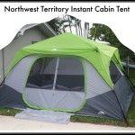 Northwest Territory Instant Cabin Tent from Kmart! #KmartSummerFun