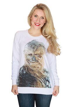 Chewie sweatshirt!! How cute!!!!