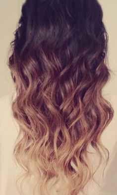 Ombre--I want to do this to my hair!