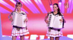 """Самые красивые аккордеонистки России-дуэт""""ЛюбАня""""-СМУГЛЯНКА [accordion,h..."""