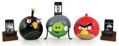 Altavoces de Angry Birds