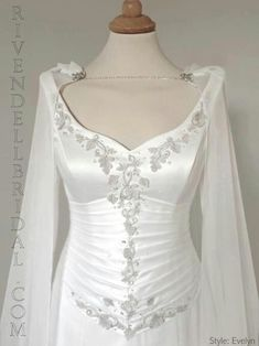 Celtic wedding dress ideas