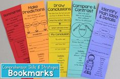 Reading Comprehension Bookmarks to Support Academic Language – What I Have Learned