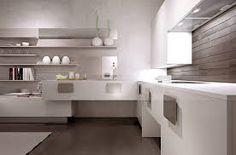 Mobili sospesi in cucina - Cucina sospesa in legno | Cucina