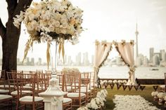 Fleur Weddings is an Ontario-based wedding planning company focused on melding eastern and western traditions for a primarily Chinese clientele. Floral Arrangements, Wedding Planning, Chandelier, Romantic, Ceiling Lights, Table Decorations, Events, Beautiful, Space