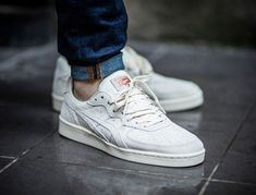 the latest 9fb21 4fb4c basket Asics Onitsuka Tiger GSM Suede Rose Gold Slight White pas cher (1)  Asics