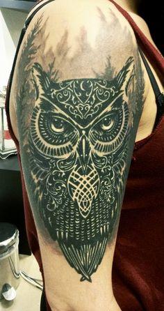 Done by Wojchiec Jelen at Bleksmiðjan Reykjavík Iceland #ink #tattoo